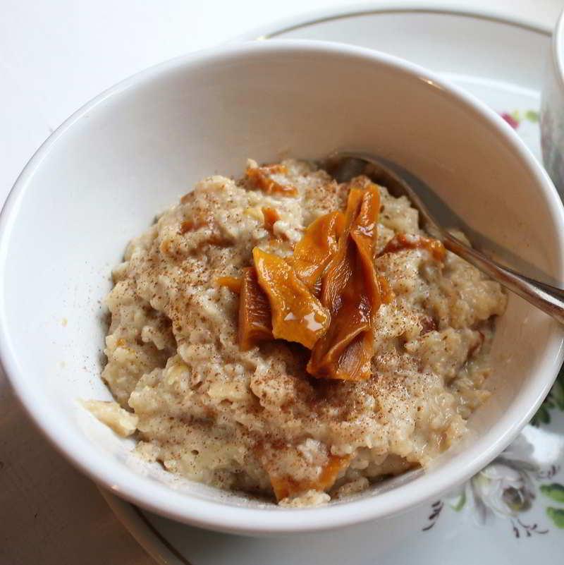 Getrocknete Mangos Online Kaufen, Apfel-Mango-Porridge