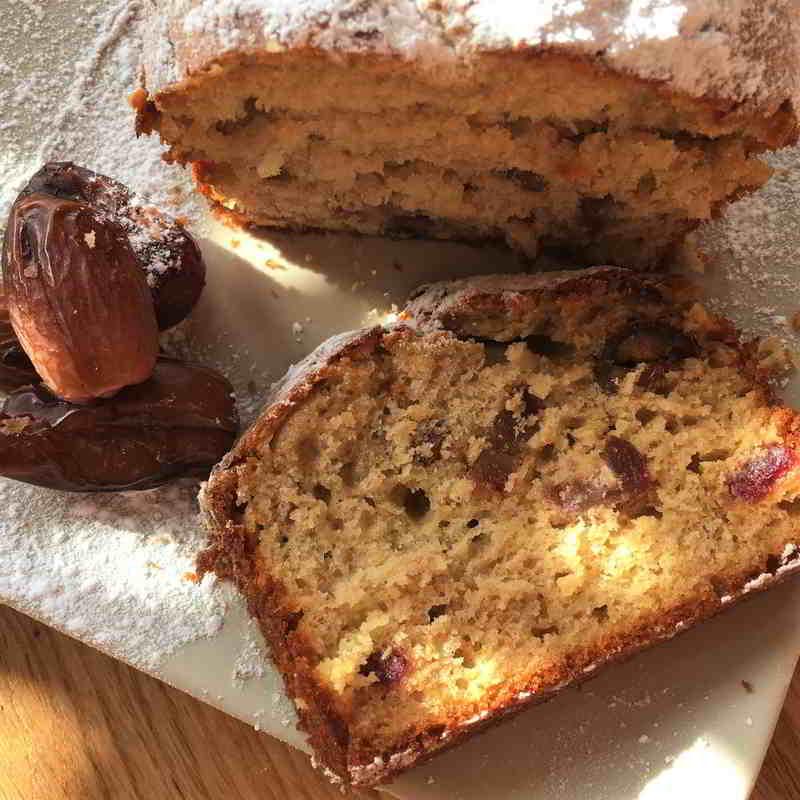 Getrocknete Datteln Online Kaufen, Bananen-Dattel-Kuchen
